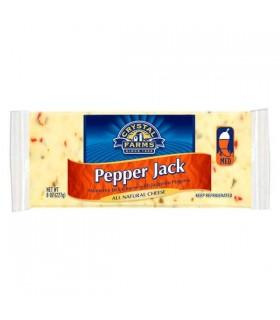 Pepper Jack Cheese Chunk x 227 Gr