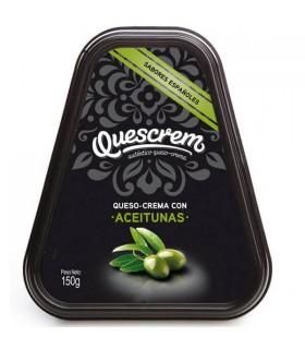Queso Crema Aceitunas x 150 Gr